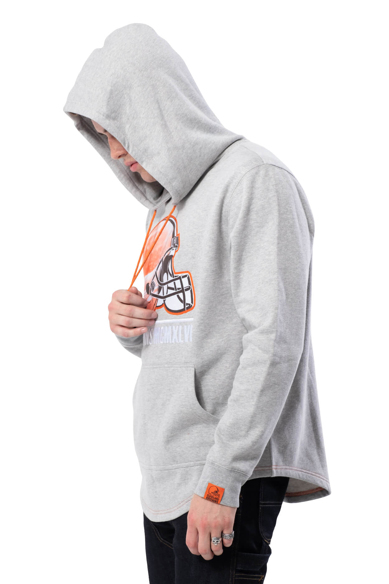 NFL Cleveland Browns Men's Embroidered Hoodie|Cleveland Browns