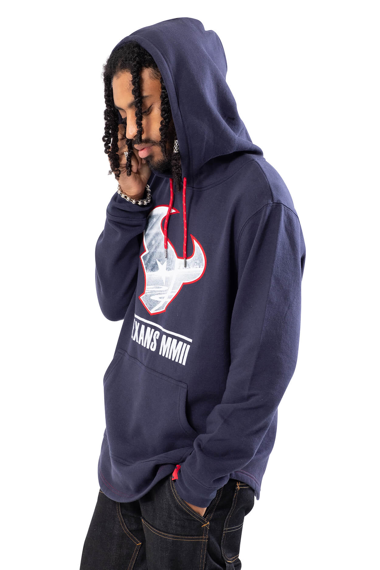 NFL Houston Texans Men's Embroidered Hoodie|Houston Texans
