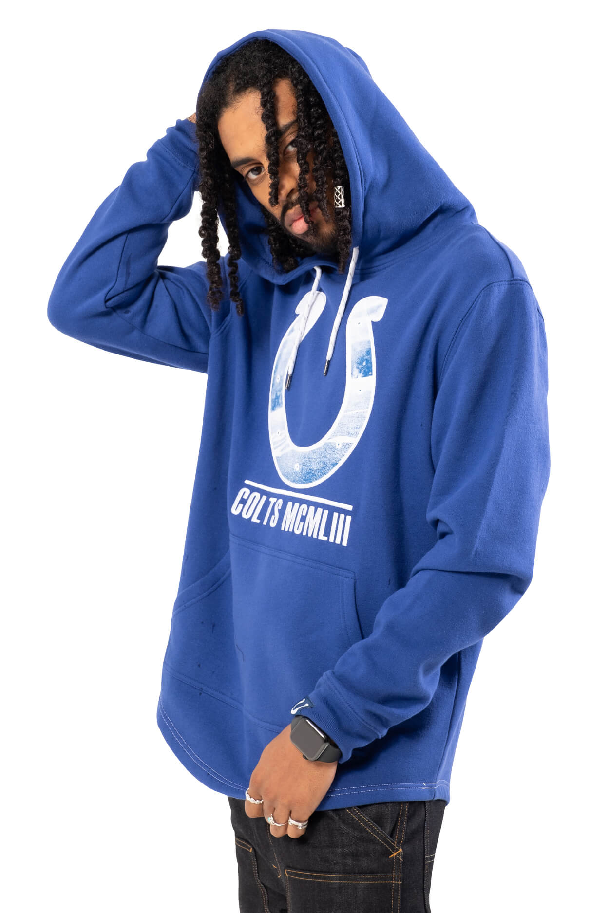 NFL Indianapolis Colts Men's Embroidered Hoodie|Indianapolis Colts