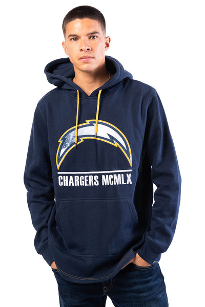 NFL Los Angeles Chargers Men's Embroidered Hoodie|Los Angeles Chargers
