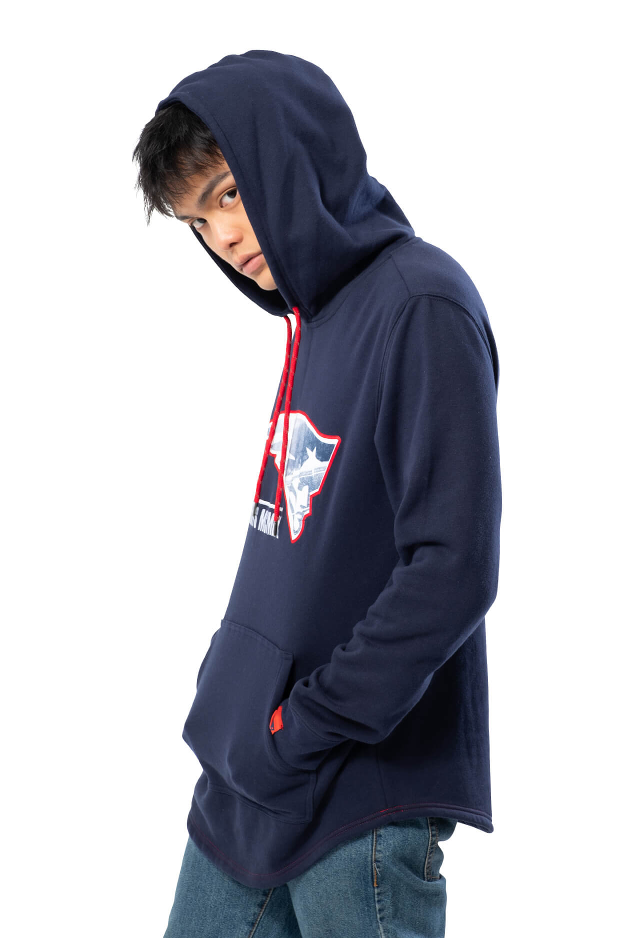 NFL New England Patriots Men's Embroidered Hoodie|New England Patriots