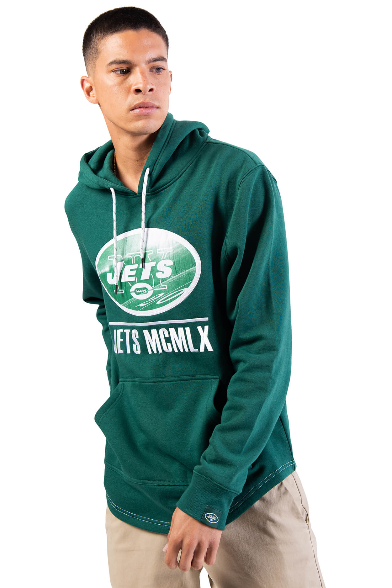 NFL New York Jets Men's Embroidered Hoodie|New York Jets