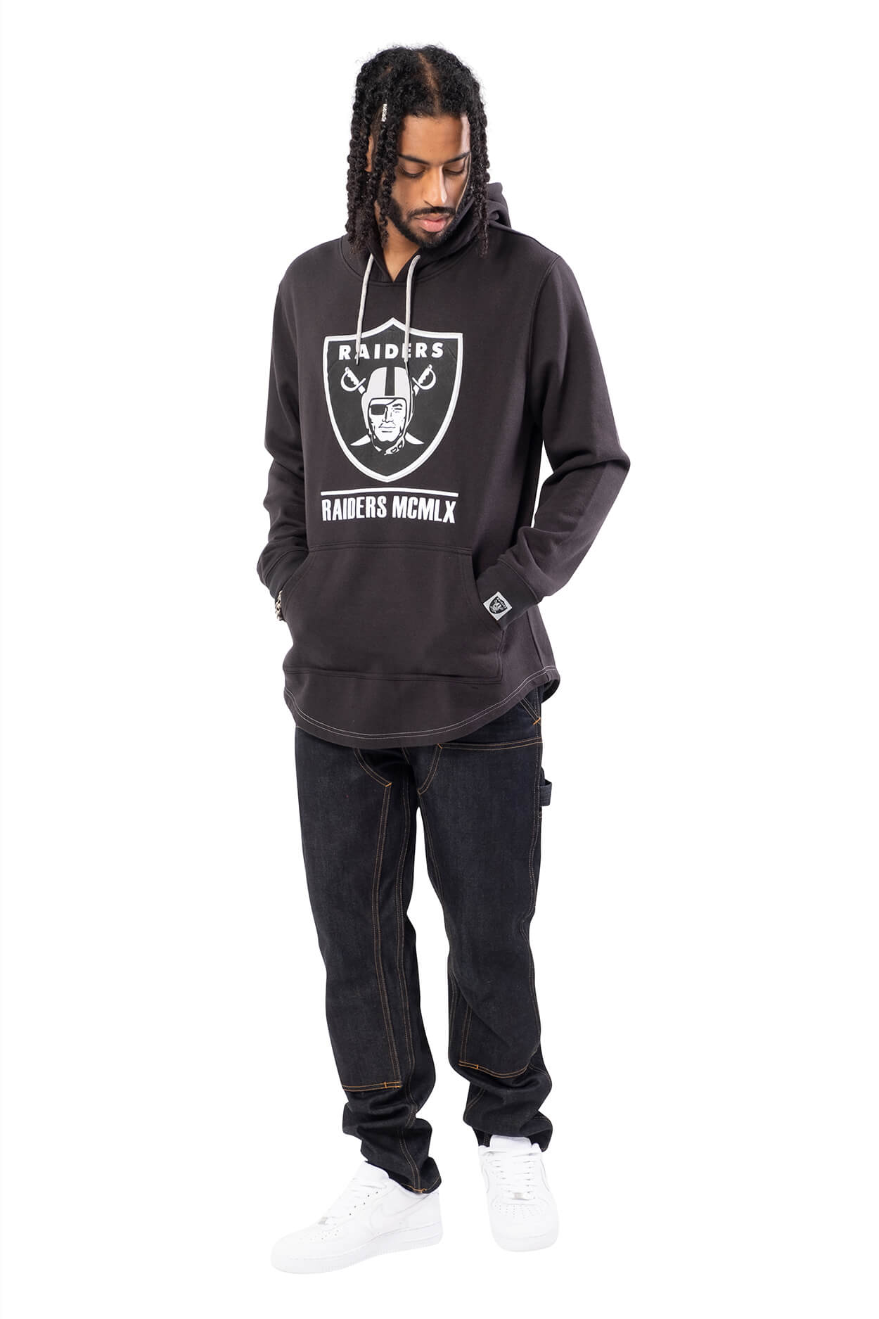 NFL Las Vegas Raiders Men's Embroidered Hoodie|Las Vegas Raiders
