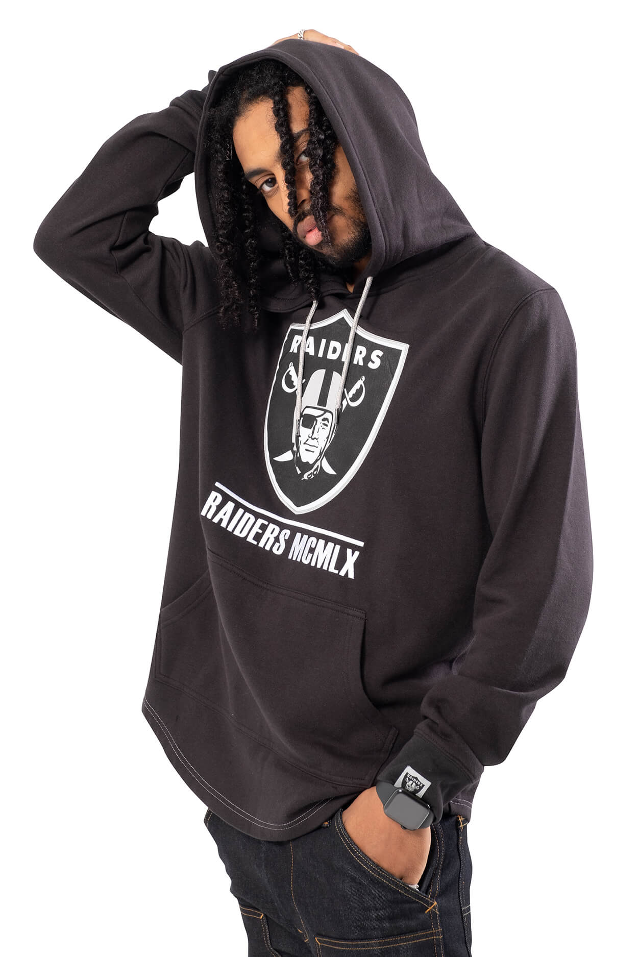 NFL Oakland Raiders Men's Embroidered Hoodie|Oakland Raiders