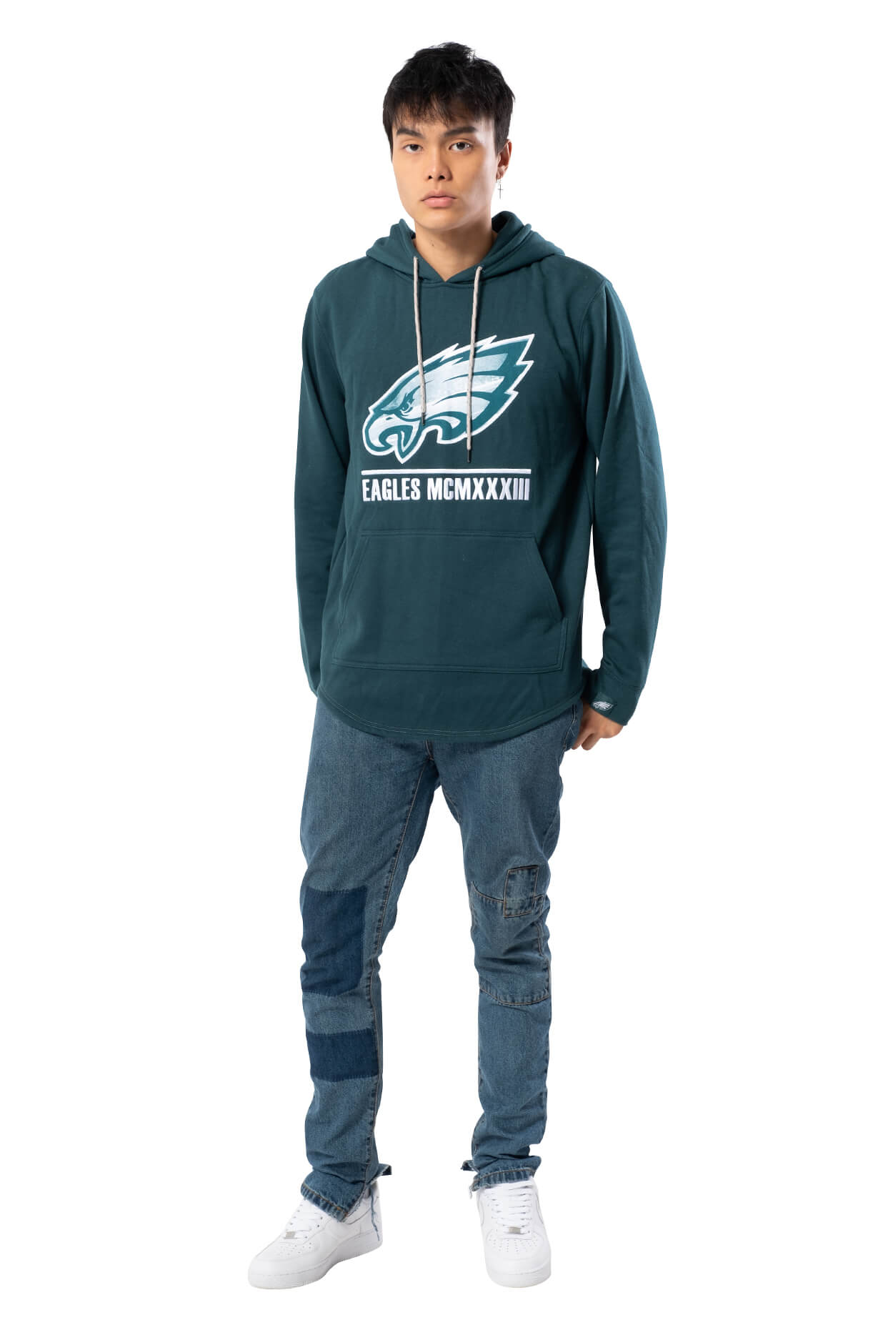 NFL Philadelphia Eagles Men's Embroidered Hoodie|Philadelphia Eagles