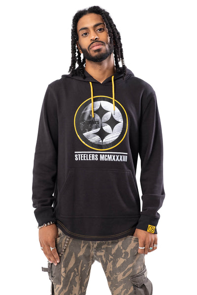 NFL Pittsburgh Steelers Men's Embroidered Hoodie|Pittsburgh Steelers