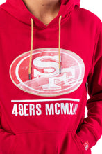 Load image into Gallery viewer, NFL San Francisco 49ers Men's Embroidered Hoodie|San Francisco 49ers