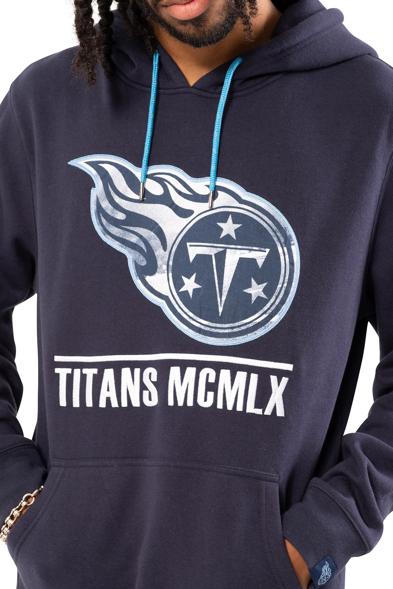 NFL Tennessee Titans Men's Embroidered Hoodie|Tennessee Titans