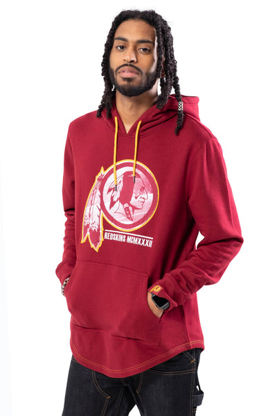 NFL Washington Redskins Men's Embroidered Hoodie|Washington Redskins