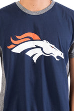 Load image into Gallery viewer, NFL Denver Broncos Men's Raglan Short Sleeve Tee|Denver Broncos