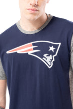 Load image into Gallery viewer, NFL New England Patriots Men's Raglan Short Sleeve Tee|New England Patriots