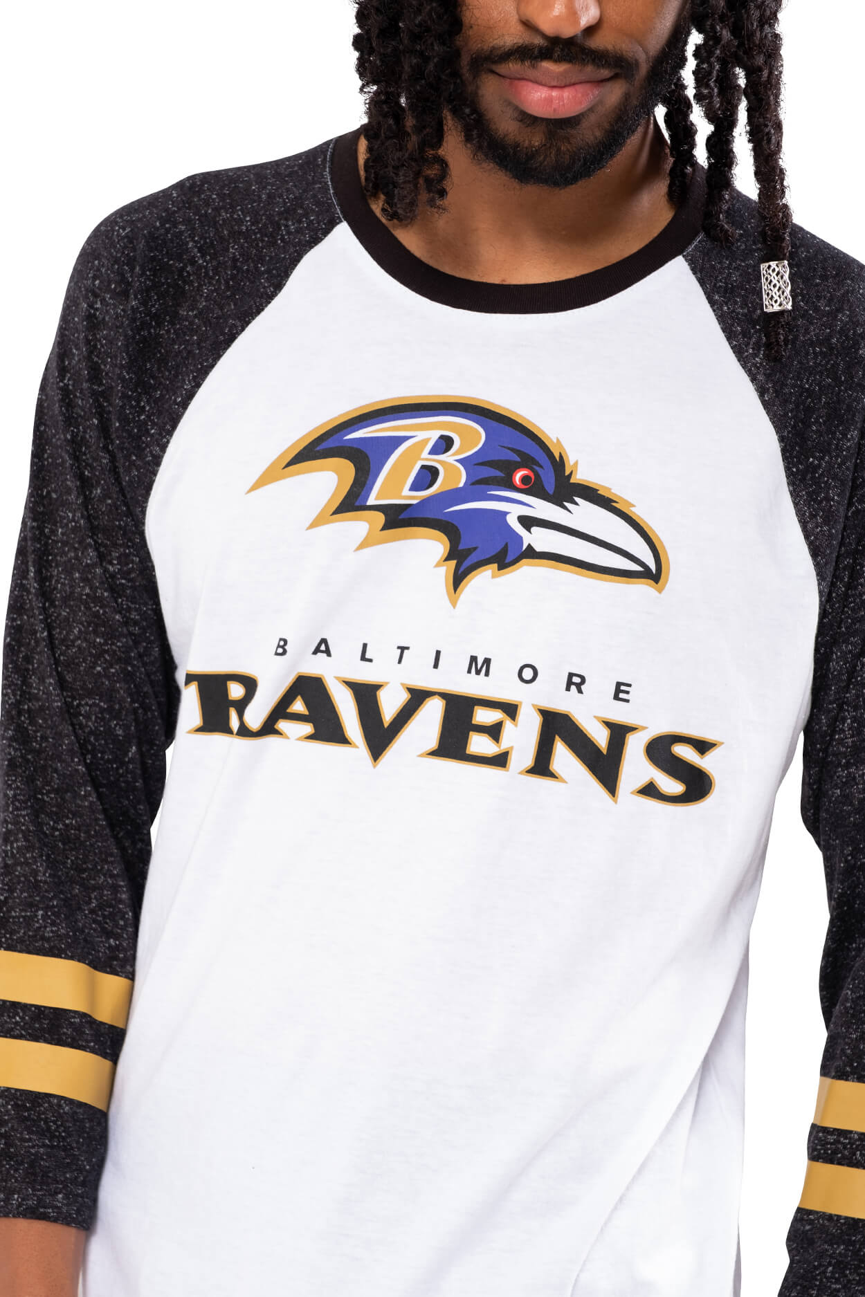 NFL Baltimore Ravens Men's Baseball Tee|Baltimore Ravens