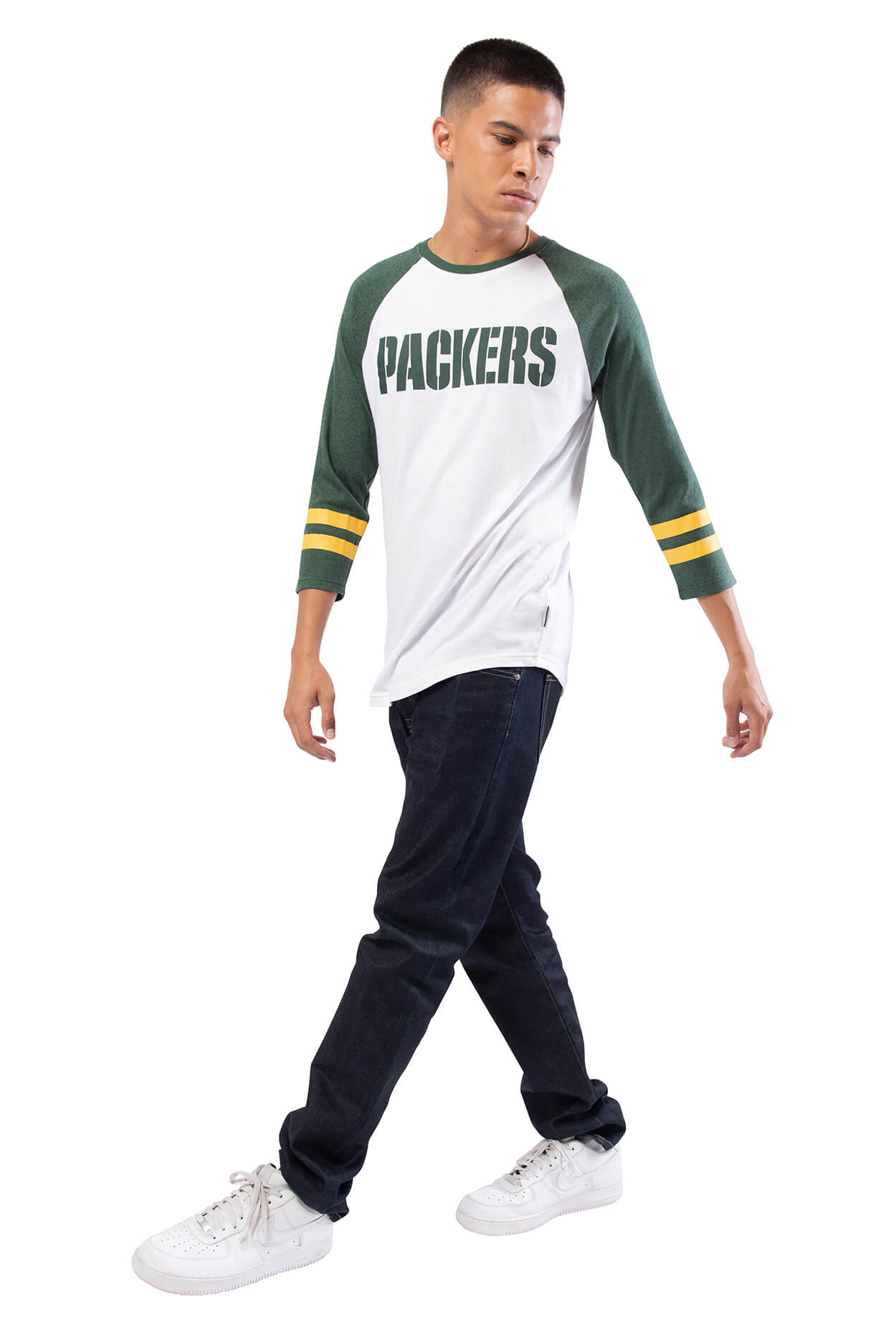 NFL Green Bay Packers Men's Baseball Tee|Green Bay Packers