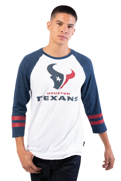 NFL Houston Texans Men's Baseball Tee|Houston Texans