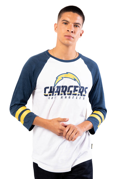 NFL Los Angeles Chargers Men's Baseball Tee|Los Angeles Chargers