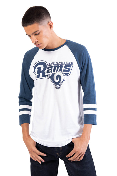 NFL Los Angeles Rams Men's Baseball Tee|Los Angeles Rams