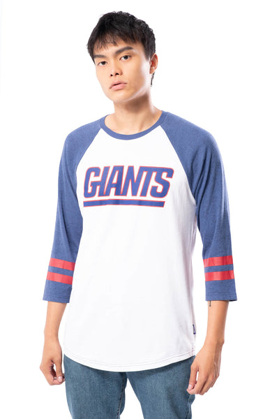 NFL New York Giants Men's Baseball Tee|New York Giants