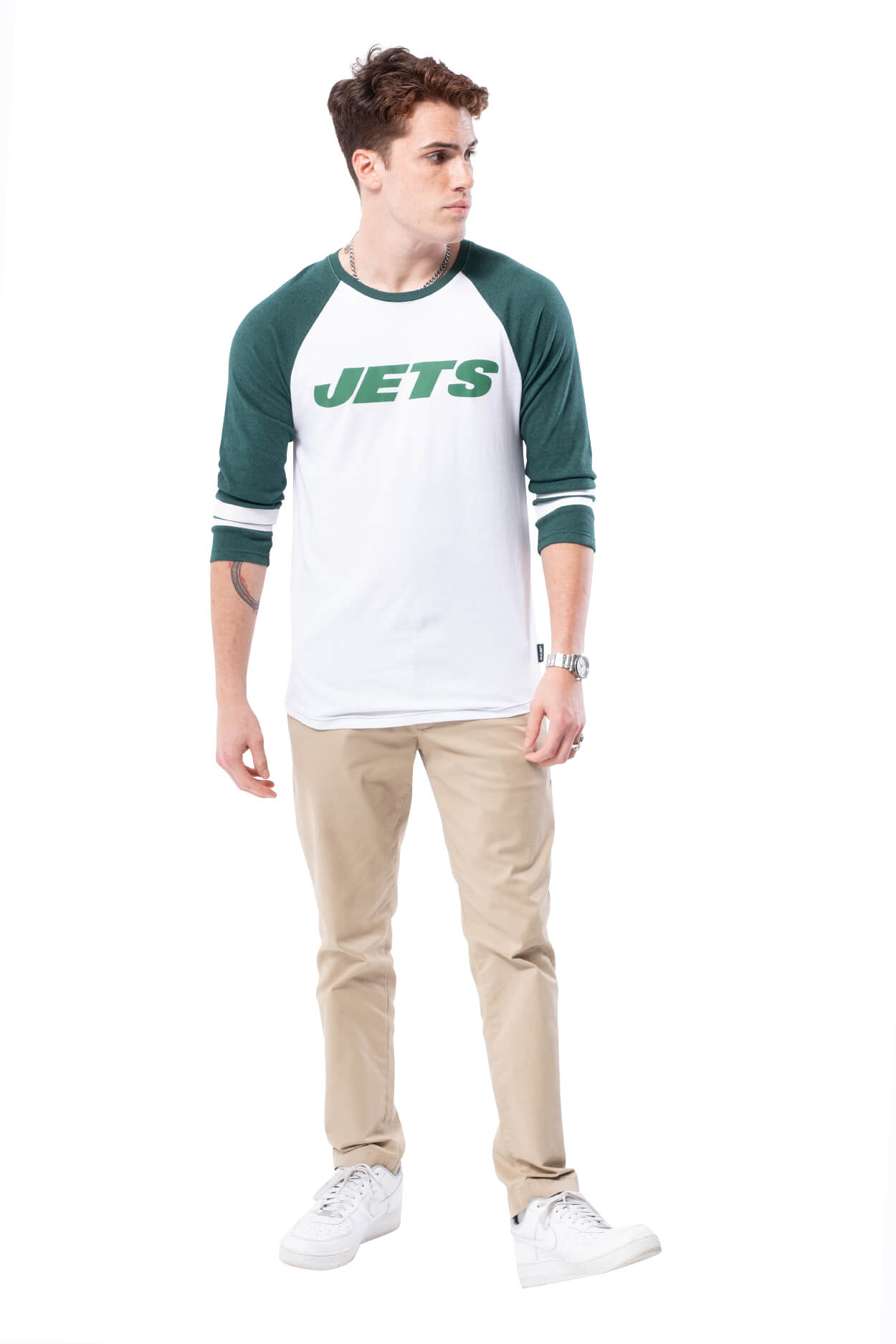 NFL New York Jets Men's Baseball Tee|New York Jets