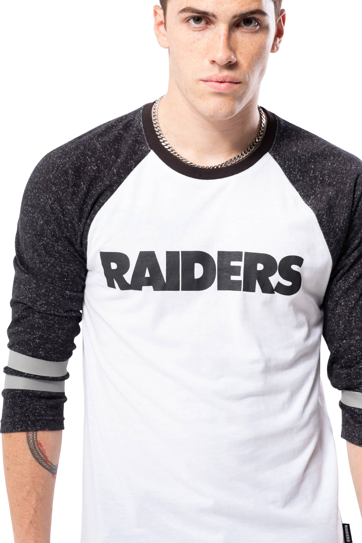 NFL Oakland Raiders Men's Baseball Tee|Oakland Raiders