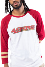 Load image into Gallery viewer, NFL San Francisco 49ers Men's Baseball Tee|San Francisco 49ers