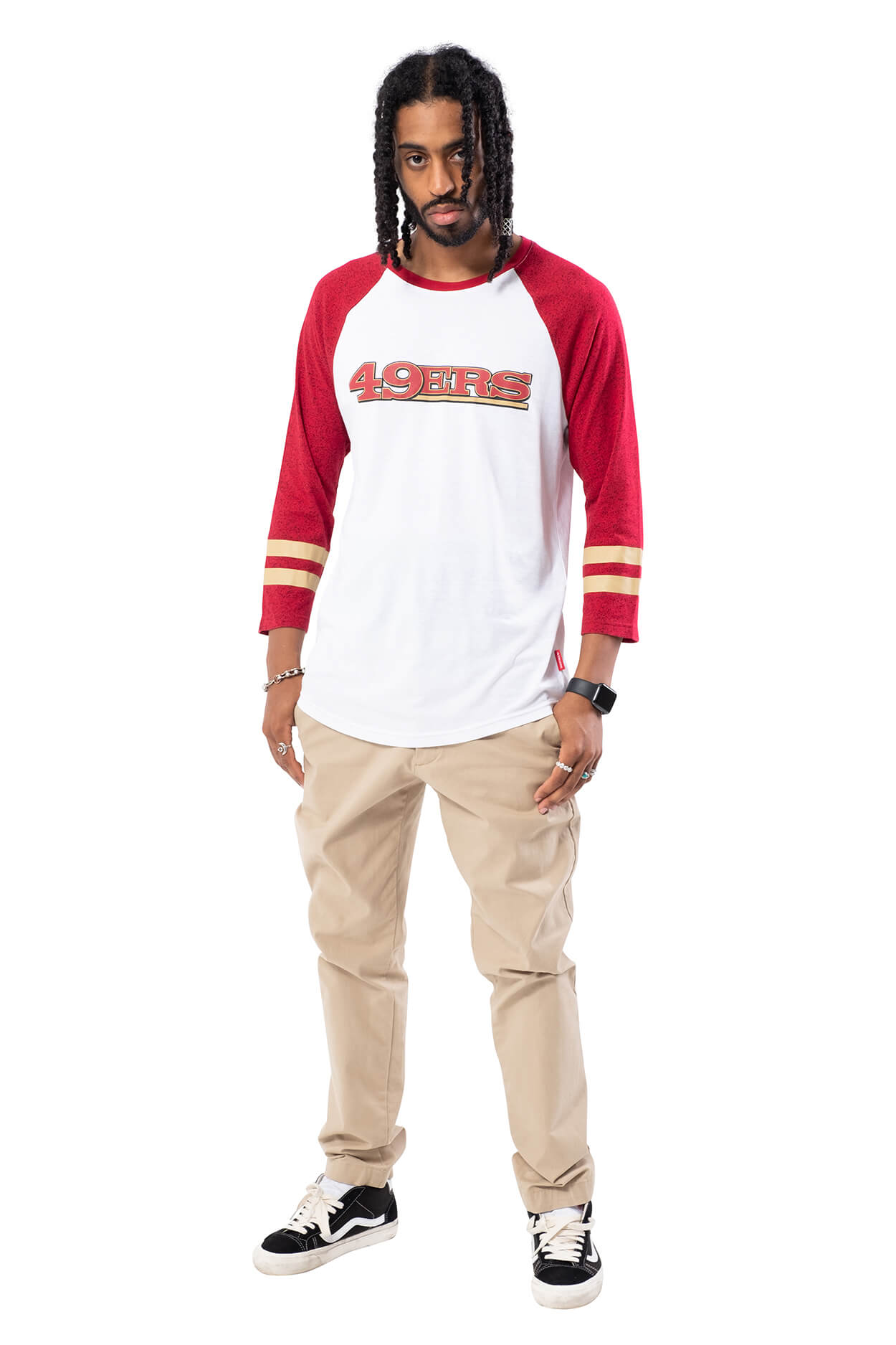 NFL San Francisco 49ers Men's Baseball Tee|San Francisco 49ers