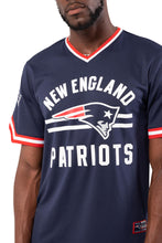 Load image into Gallery viewer, NFL New England Patriots Men's Jersey Stripe V-Neck|New England Patriots