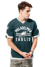 Load image into Gallery viewer, NFL Philadelphia Eagles Men's Jersey Stripe V-Neck|Philadelphia Eagles