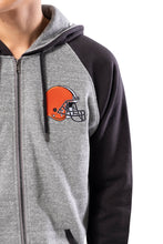 Load image into Gallery viewer, NFL Cleveland Browns Men's Full Zip Hoodie|Cleveland Browns