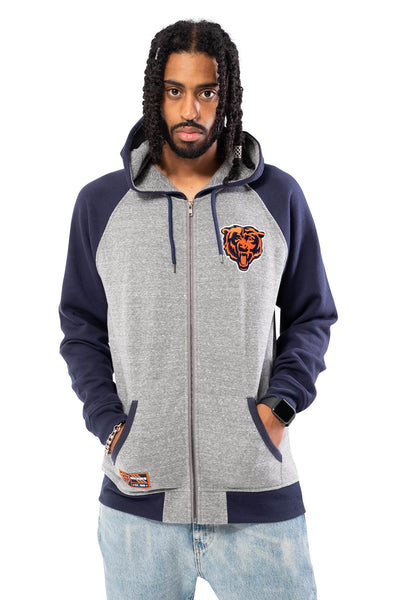 NFL Chicago Bears Men's Full Zip Hoodie|Chicago Bears