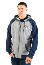 Load image into Gallery viewer, NFL Denver Broncos Men's Full Zip Hoodie|Denver Broncos
