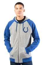 Load image into Gallery viewer, NFL Indianapolis Colts Men's Full Zip Hoodie|Indianapolis Colts