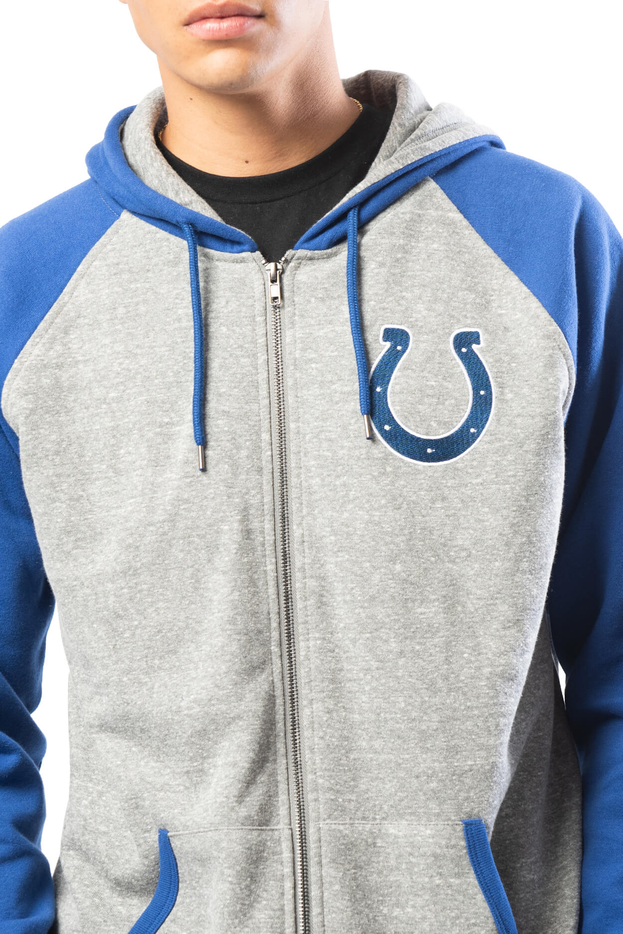 NFL Indianapolis Colts Men's Full Zip Hoodie|Indianapolis Colts