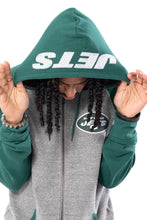 Load image into Gallery viewer, NFL New York Jets Men's Full Zip Hoodie|New York Jets