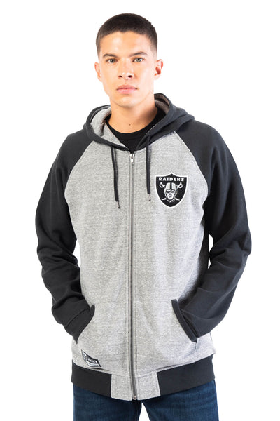 NFL Las Vegas Raiders Men's Full Zip Hoodie|Las Vegas Raiders