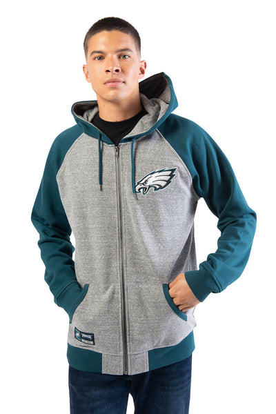 NFL Philadelphia Eagles Men's Full Zip Hoodie|Philadelphia Eagles