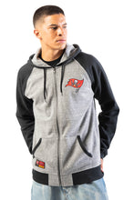 Load image into Gallery viewer, NFL Tampa Bay Buccaneers Men's Full Zip Hoodie|Tampa Bay Buccaneers
