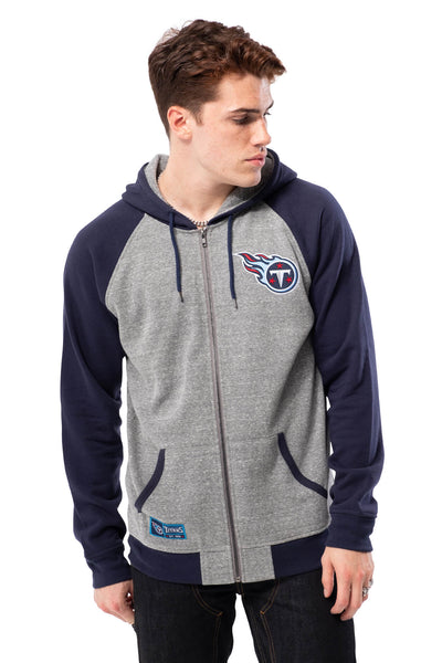 NFL Tennessee Titans Men's Full Zip Hoodie|Tennessee Titans
