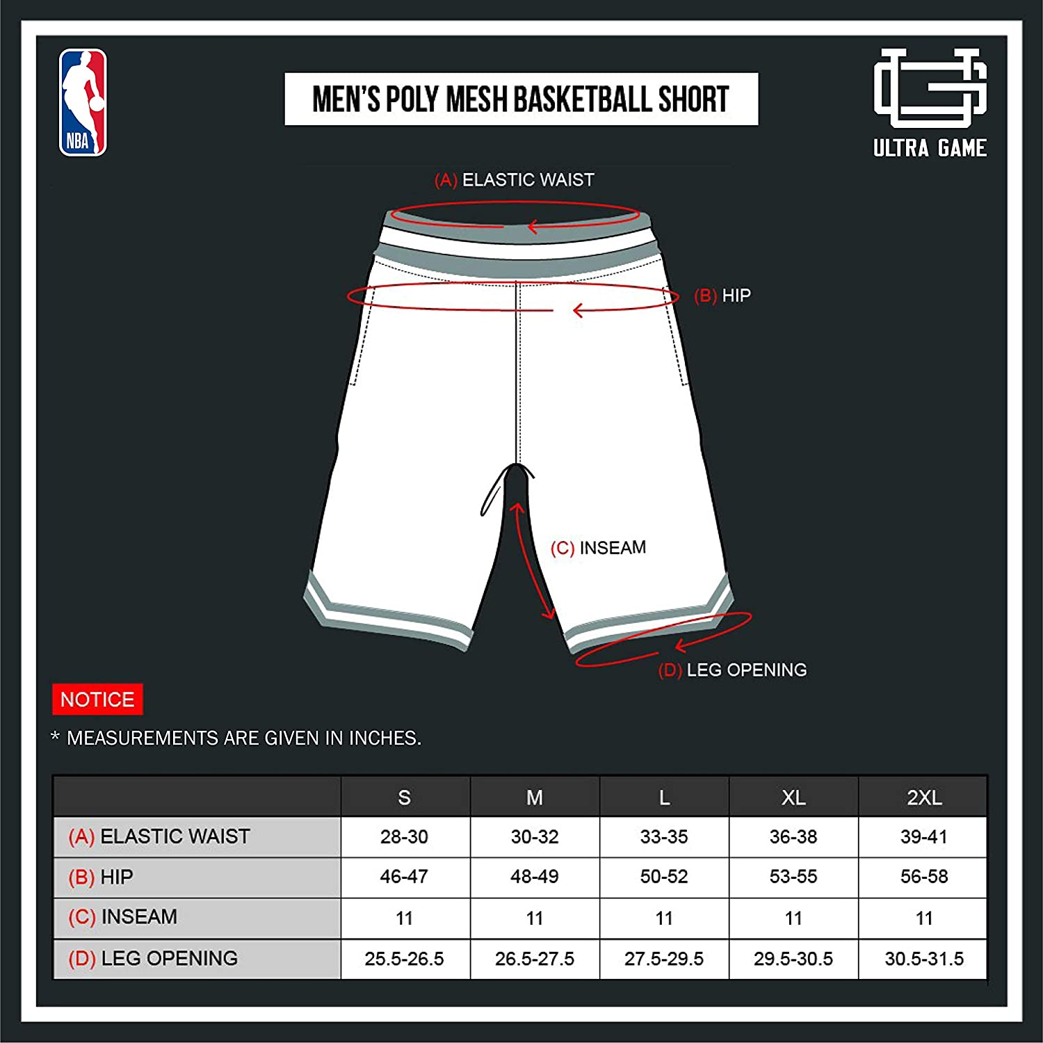 NBA Houston Rockets Men's Basketball Shorts|Houston Rockets