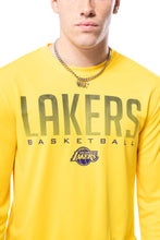 Load image into Gallery viewer, NBA Los Angeles Lakers Men's Long Sleeve Tee|Los Angeles Lakers