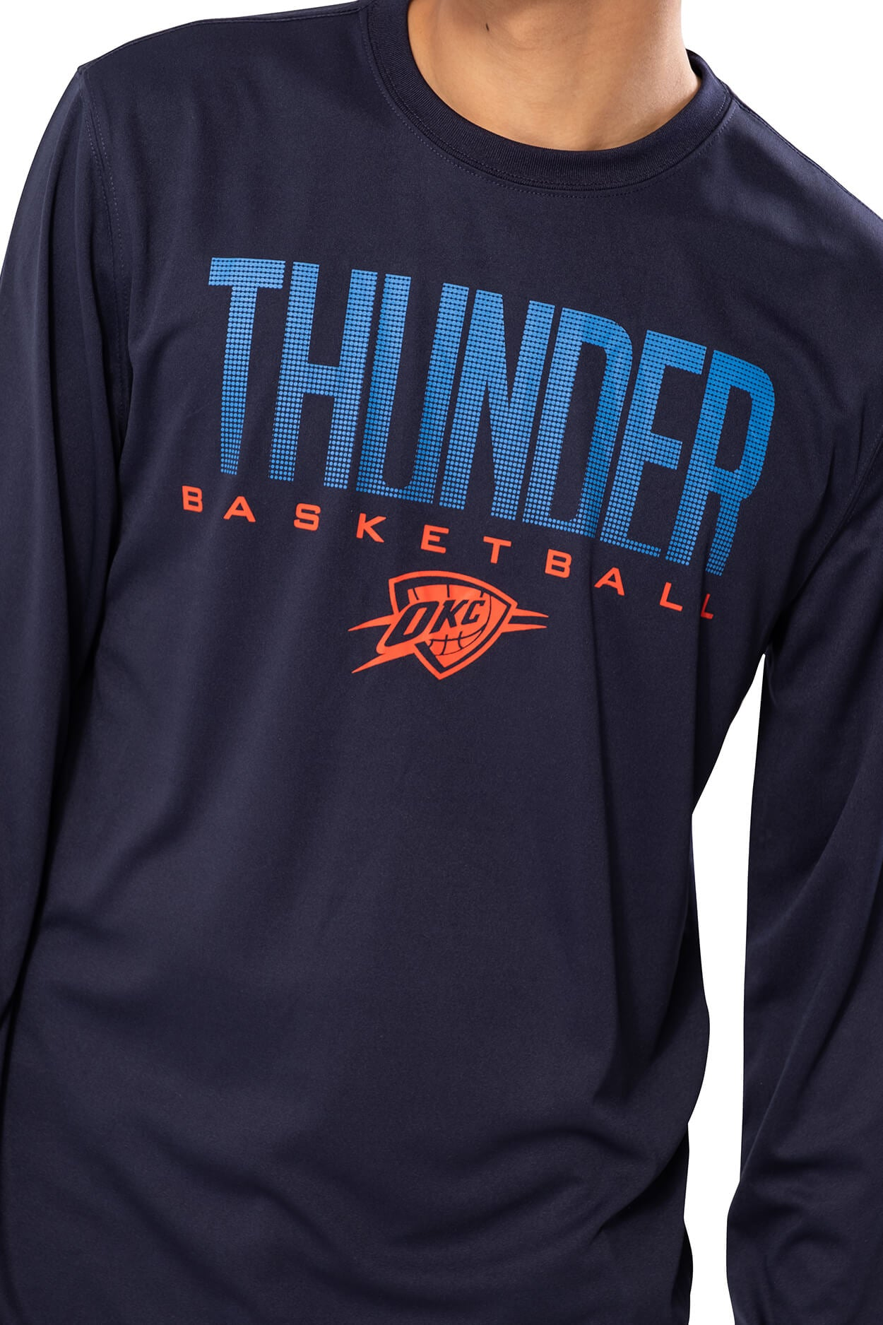 NBA Oklahoma City Thunder Men's Long Sleeve Tee|Oklahoma City Thunder
