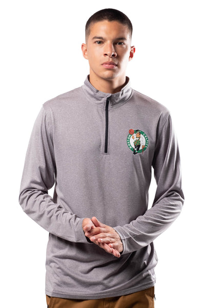 NBA Boston Celtics Men's Quarter Zip Quick Dry Tee|Boston Celtics