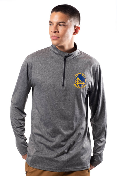 NBA Golden State Warriors Men's Quarter Zip Quick Dry Tee|Golden State Warriors