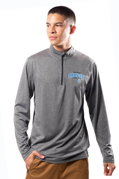 NBA Orlando Magic Men's Quarter Zip Quick Dry Tee|Orlando Magic