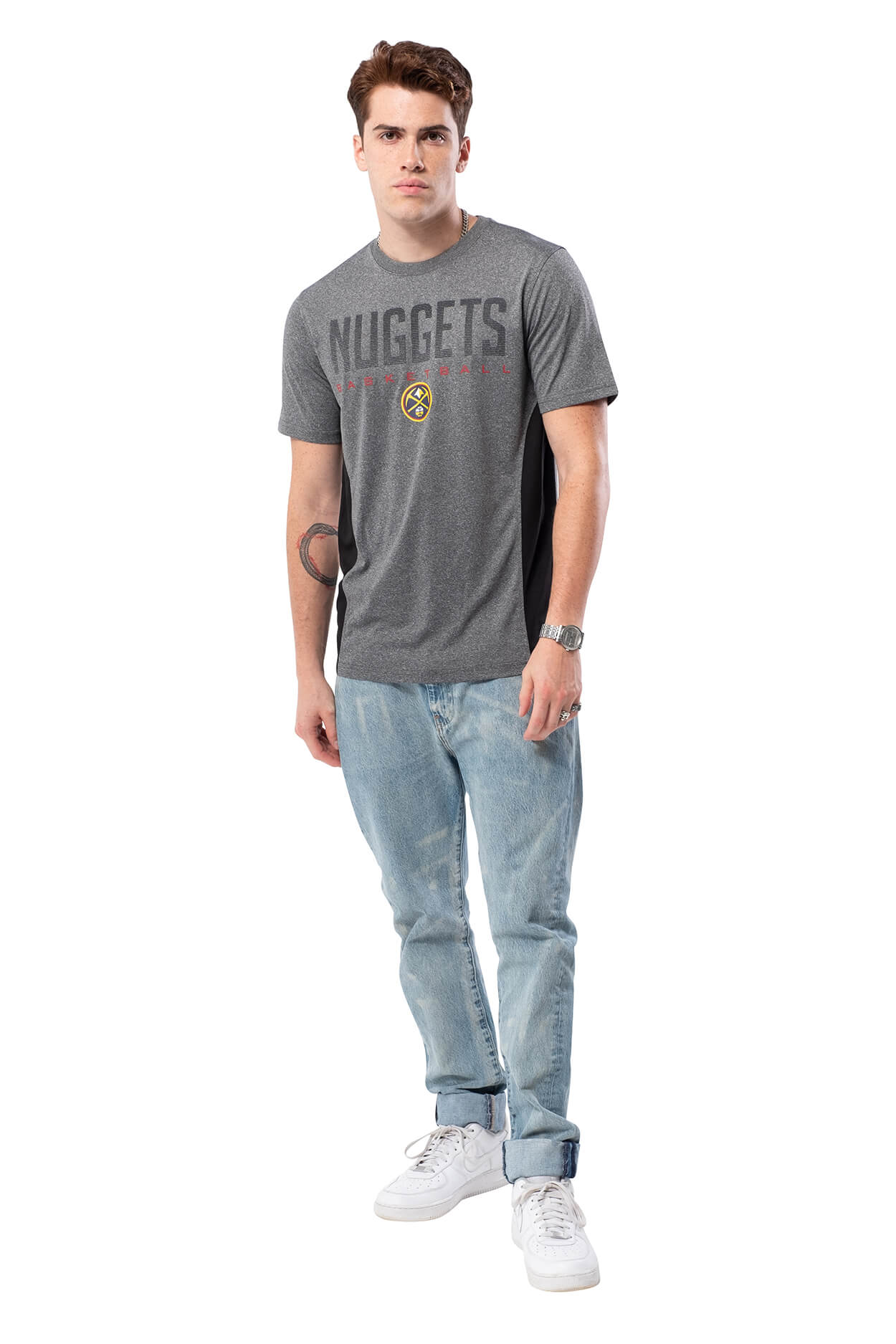 NBA Denver Nuggets Men's Short Sleeve Tee|Denver Nuggets