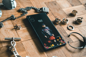 "SLVR.TETUYA iPhone Case (X/XS) ""早起き"""