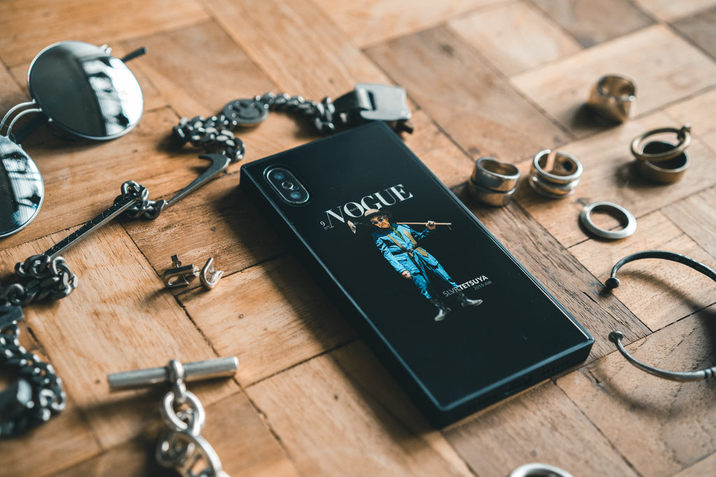 "SLVR.TETUYA iPhone Case (X/XS) ""NOGUE"""