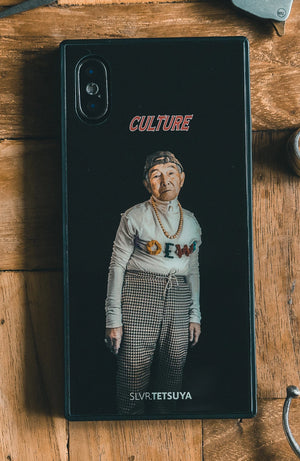 "SLVR.TETUYA iPhone Case (X/XS) ""CULTURE"""