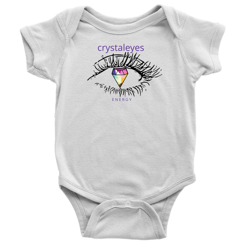Crystaleyes Energy Baby bodysuit