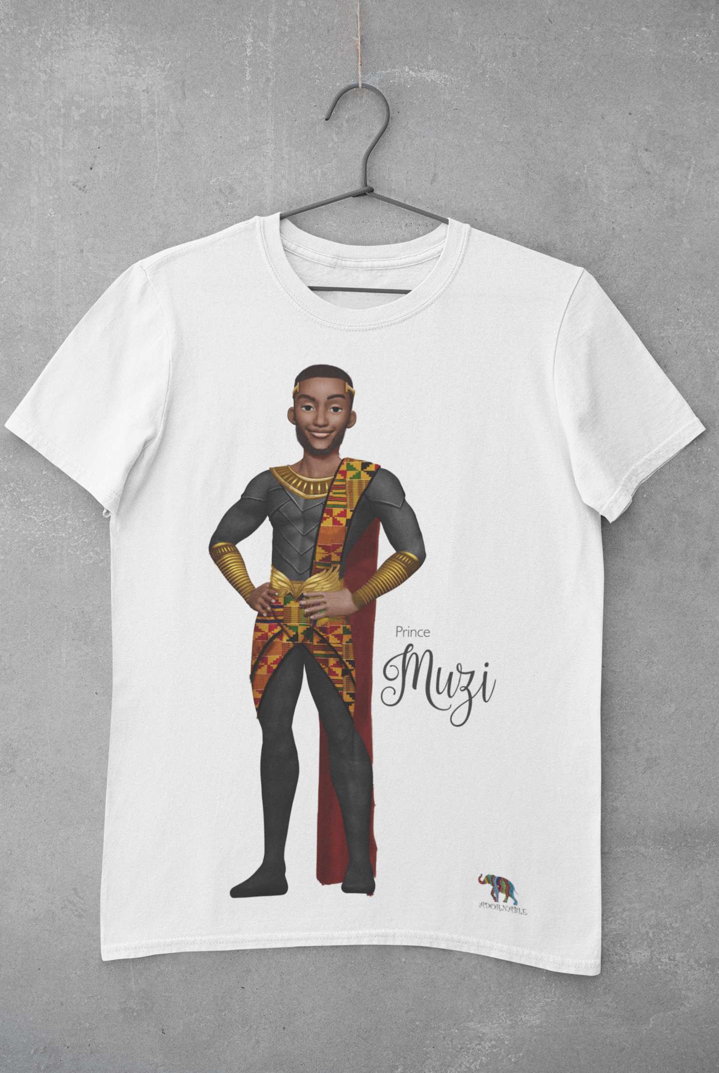 Prince Muzi  Short Sleeve t-shirt