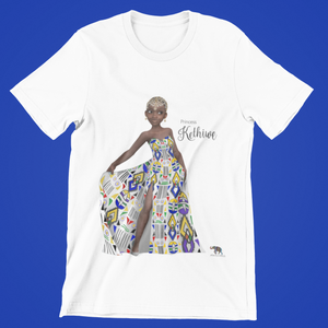 Princess Kethiwe Short Sleeve t-shirt